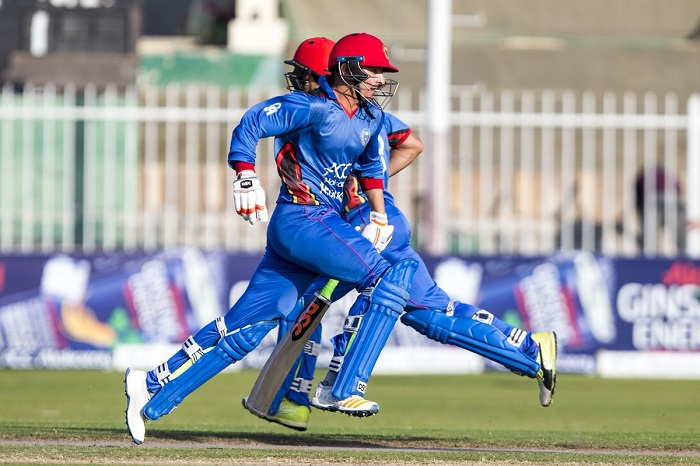 Afghanistan score 333/5 against Zimbabwe in first ODI