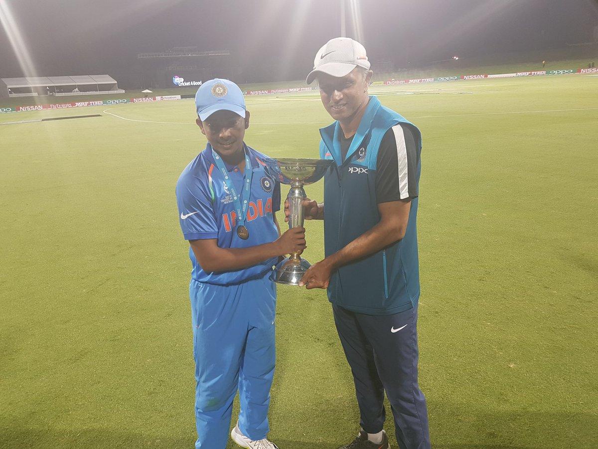 U-19 WC: Hope boys have many more memories like this, says Rahul Dravid Images