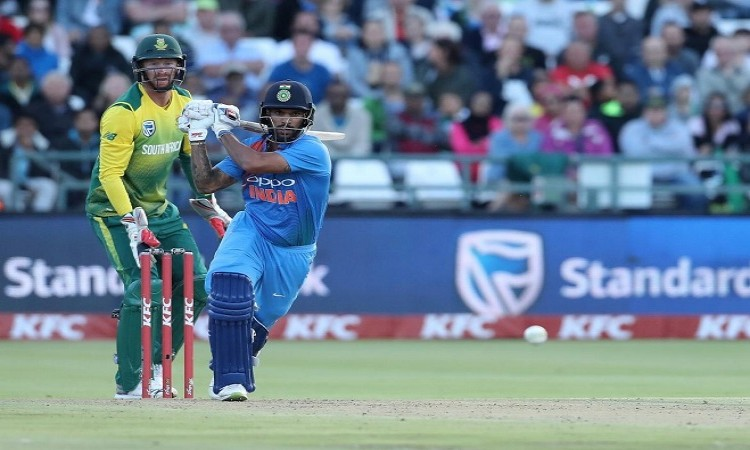 India post 172/7 in 3rd T20I against South Africa
