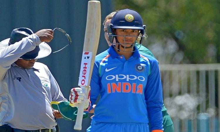 SMRITI MANDHANA first Indian Women to score hundreds in three away countries.