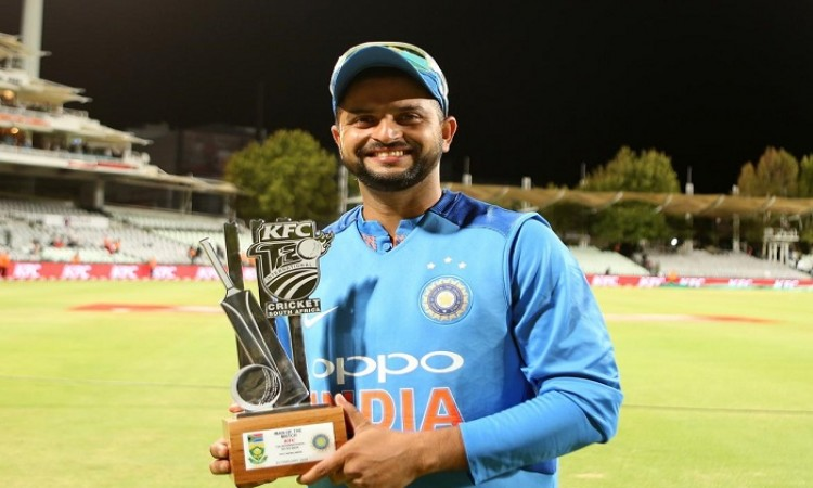 In T20, the first six overs are the key says Suresh Raina