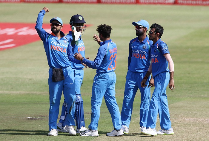 India beat South Africa with 177 balls to spare