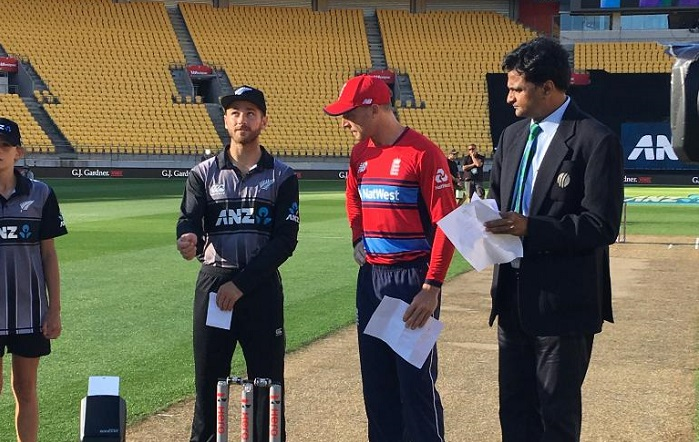 England have won the toss and have opted to field