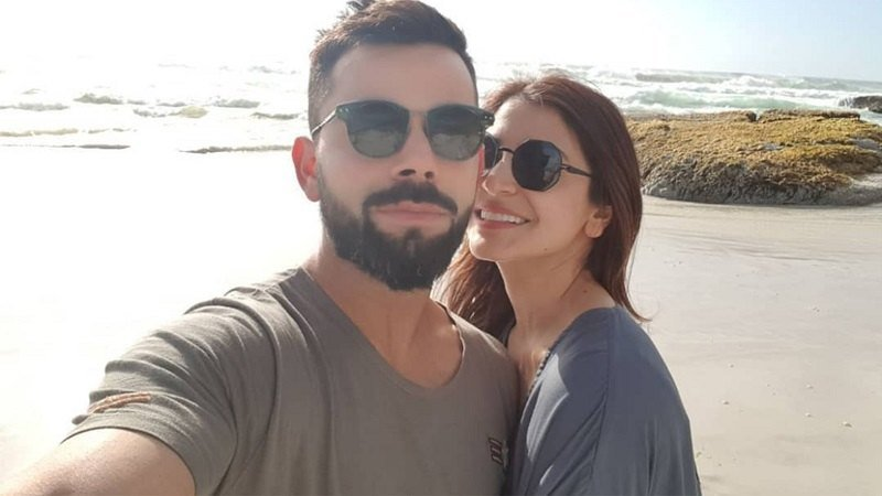 Virat Kohli With His Wife Anushka Sharma Images in Hindi
