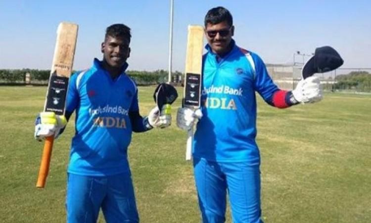 ब्लाइंड क्रिकेट भारत, सचिन तेंदुलकर