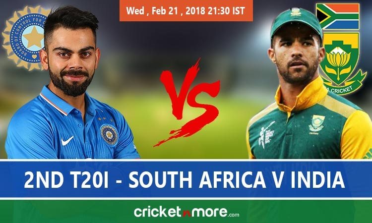 Live Score: India vs South Africa 2nd T20I