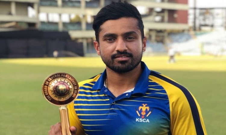 Karun Nair to lead Rest of India in Irani Cup