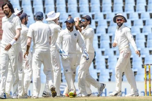 भारतीय टीम टेस्ट