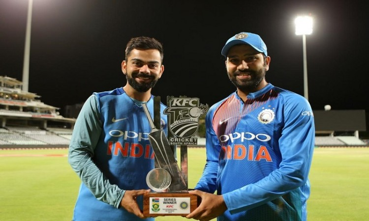 Rohit Sharma gives credit to bowlers for thrilling victory against South Africa in 3rd T20I