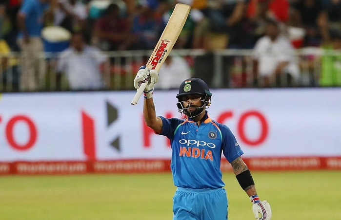 India 50/1 after 10 overs in 3rd Odi vs south africa