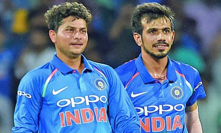 Yuzvendra Chahal and Kuldeep Yadav