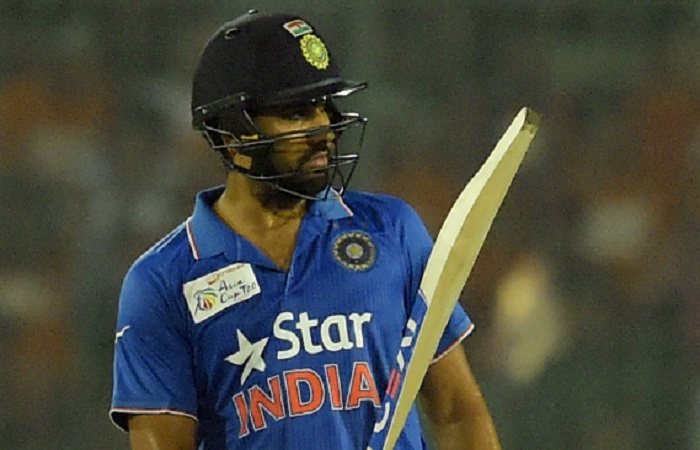Rohit Sharma strikes back half century