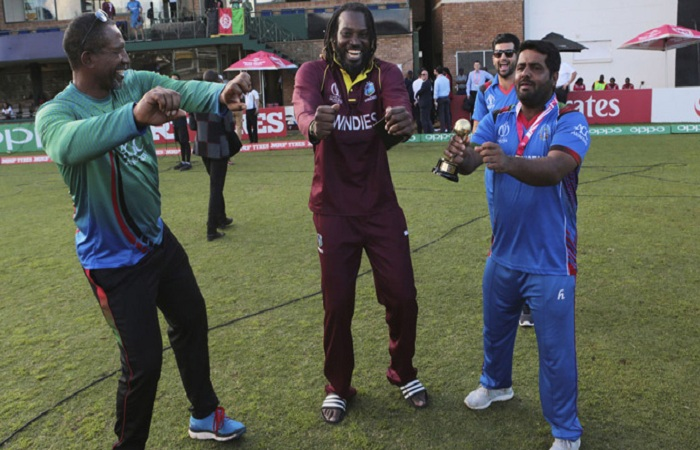 Video : Chris Gayle and Mohammed Shahzad