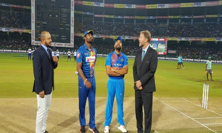 TOSS Updates: India won the toss and elected to field, 4th T20I Nidahas Trophy Images