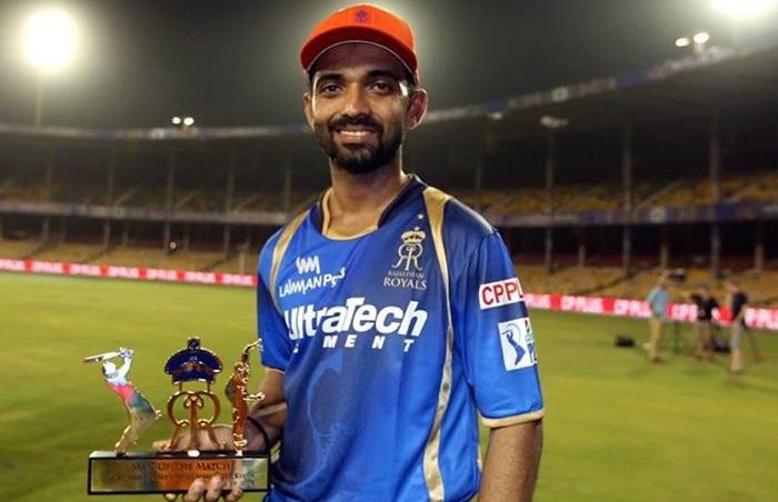 Ajinkya Rahane Thrilled to be Named Captain of Rajasthan Royals