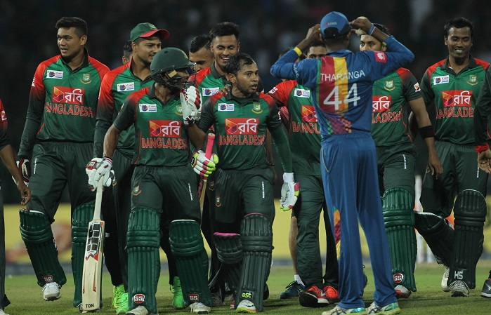 Bangladesh records the fourth highest successful run chase in T20I history
