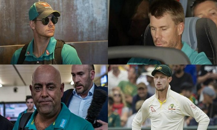 Images for Ball-tampering: Smith Warner Bancroft apologise Lehmann