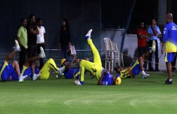 CSK Team (Practice Session In Delhi) Images
