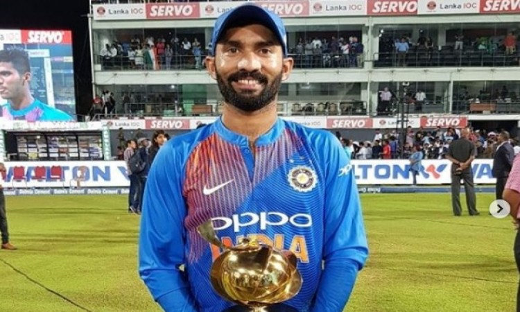 dinesh karthik T20 International rankings