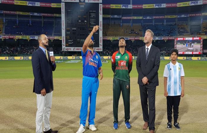 India won the toss