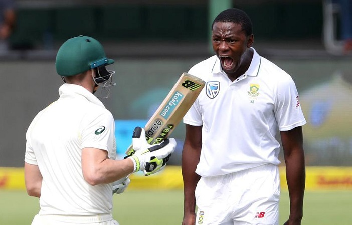 kagiso Rabada charged with level 2 offence, faces suspension