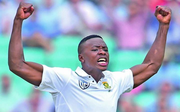 kagiso rabada 5 wicket haul in second test vs Australia