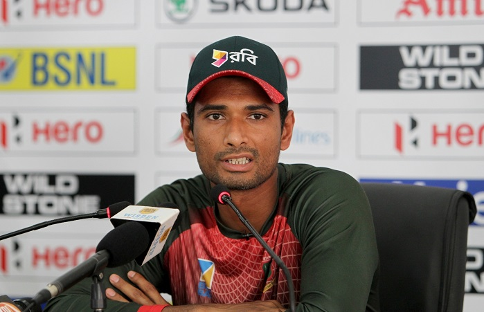 Mahmudullah after 6 wicket loss against India