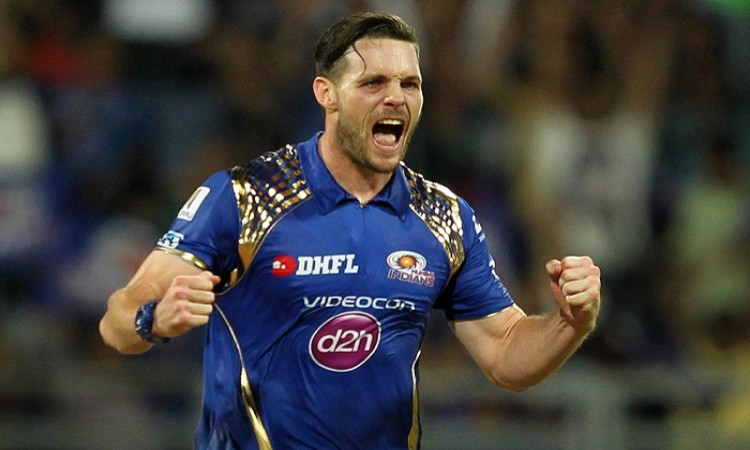 Mitchell McClenaghan in for injured Jason Behrendorff in Mumbai squad