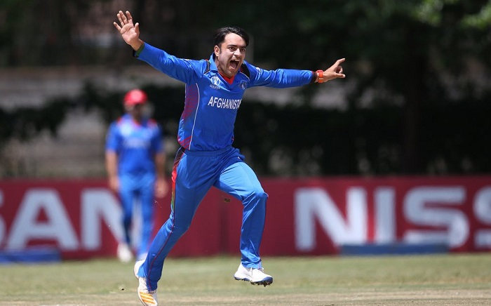 Rashid Khan and Dawlat Zadran clean up UAE for 177