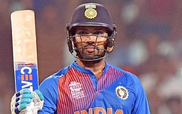 rohit sharma hits 16th t20 international half century