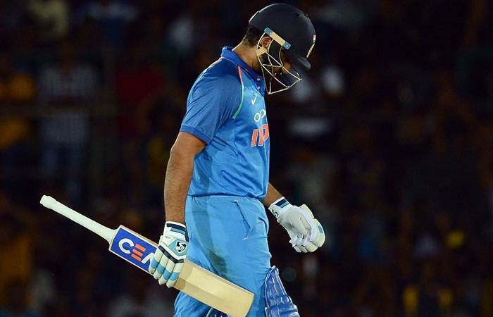 Rohit Sharma score zero vs Sri Lanka in first T20I