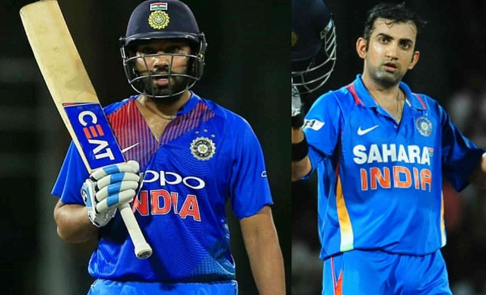 Rohit Sharma became the first Indian opener to bat full 20 overs in a T20I