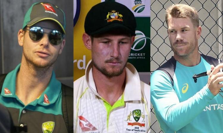 Images for Australia's Smith, Warner, Bancroft suspended from Johannesburg Test
