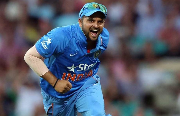 Suresh raina 40th catch in t20 internationals