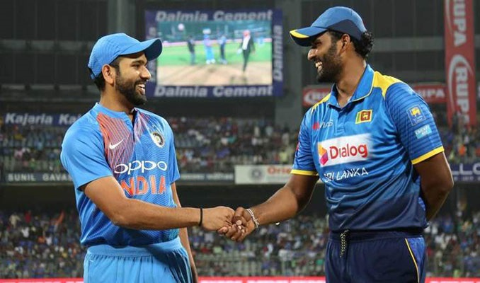 India have won the toss and have opted to field vs Sri Lanka