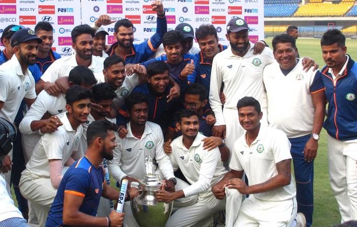 Ranji Champions Vidarbha Clinch Maiden Irani CupTitle