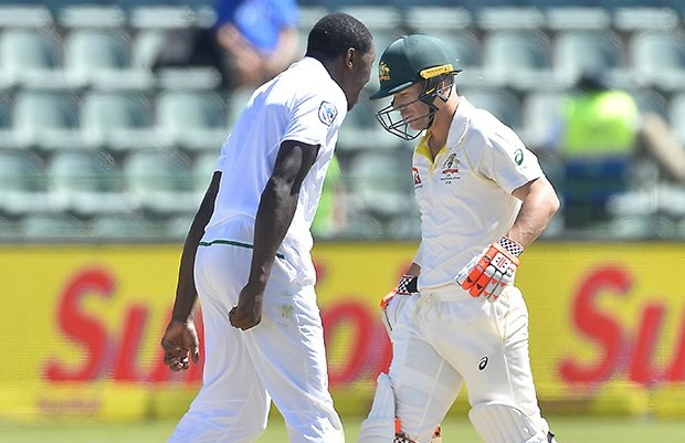 Kagiso Rabada reported for conduct breach for second time in port elizabeth Test