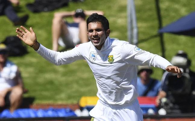 Keshav Maharaj Durban Test