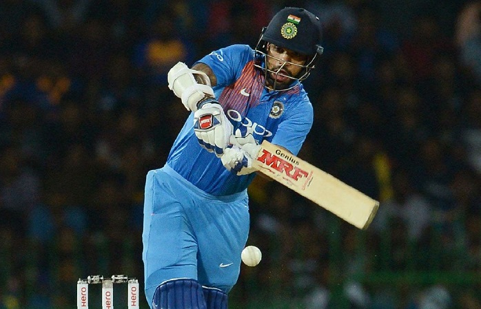 Shikhar Dhawan's 90 is now the highest by an Indian player in T20Is in Sri Lanka