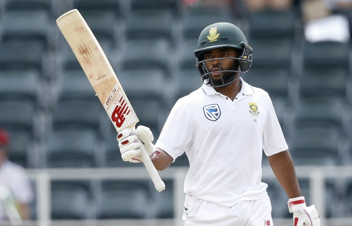 First instance of South Africa having six 50-plus stands in an innings in Tests