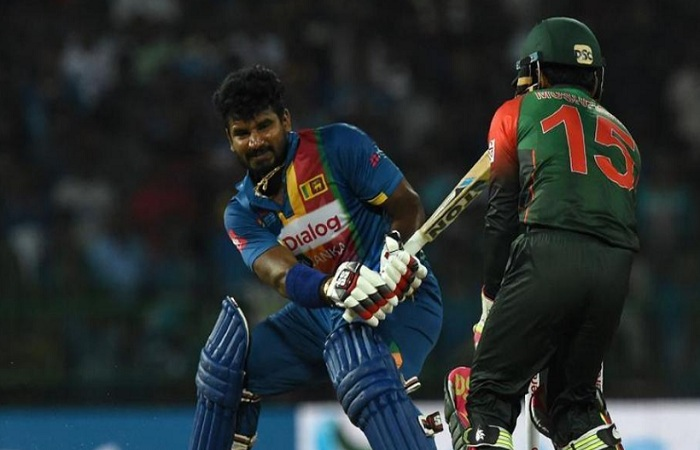 Sri Lanka lost the toss