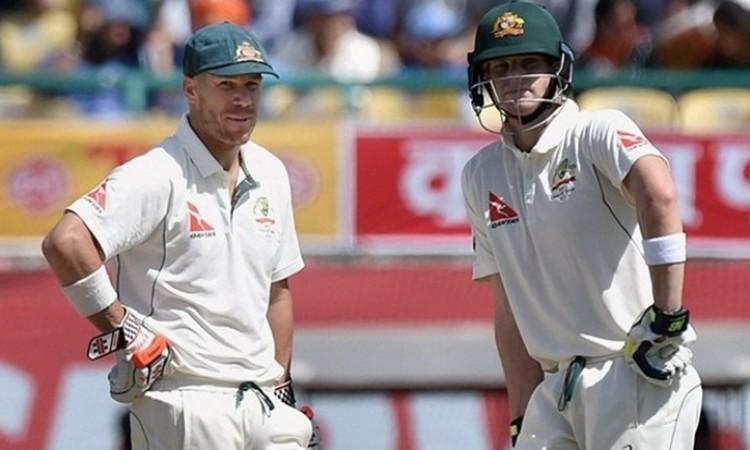Breaking News : Australia captain Steve Smith, vice-captain David Warner step down for 3rd Test Imag