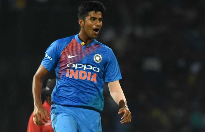 WASHINGTON SUNDAR Youngest player to win a Man of Series award