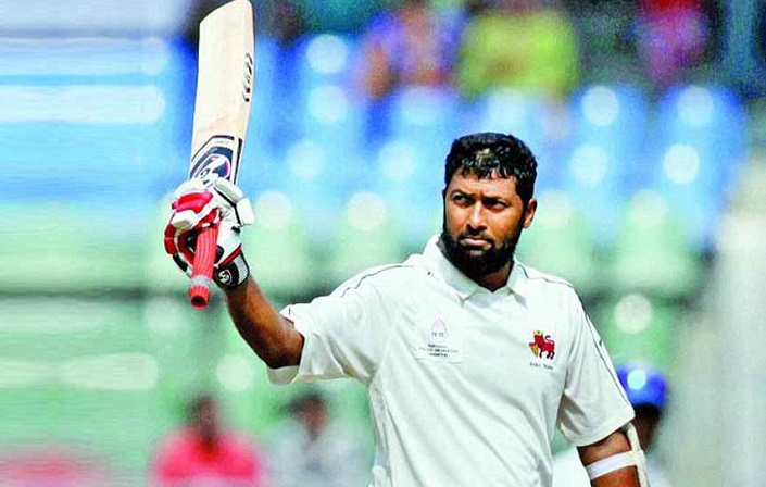 Wasim Jaffer 49th century in Indian first class cricket