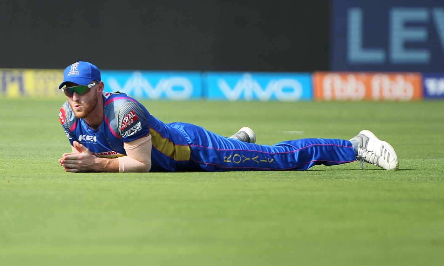 Ben Stokes Of Rajasthan Royals During An IPL 2018 Images