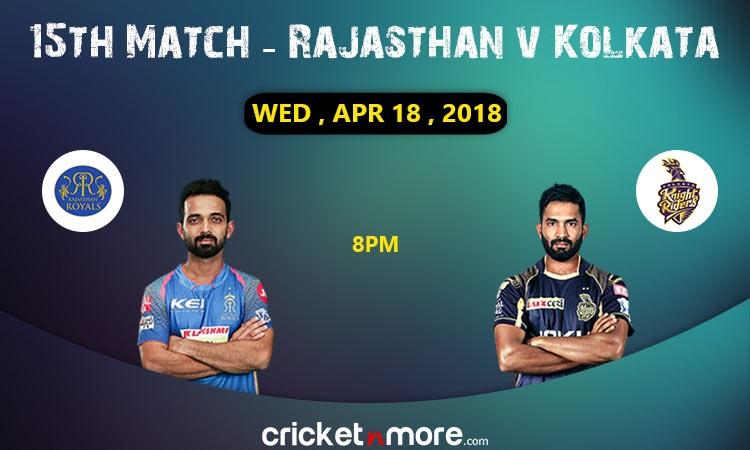Rajasthan Royals vs Kolkata Knight Riders Match Preview