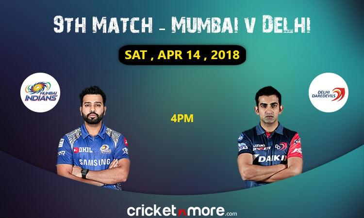 Mumbai Indians vs delhi daredevils match 9 preview