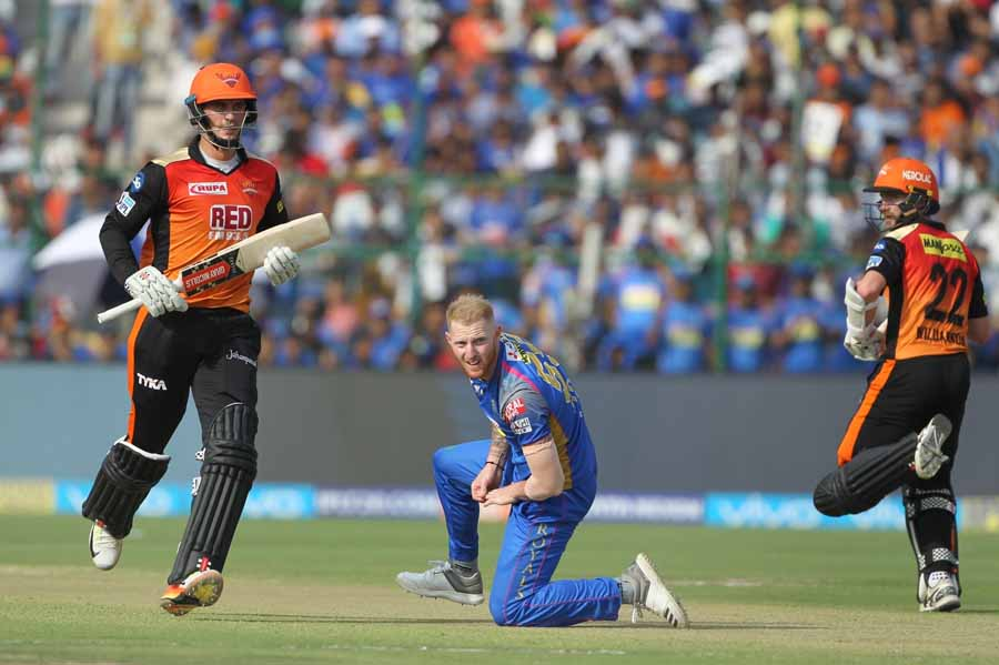 Ben Stokes Of Rajasthan Royals During An IPL 2018 Match Images
