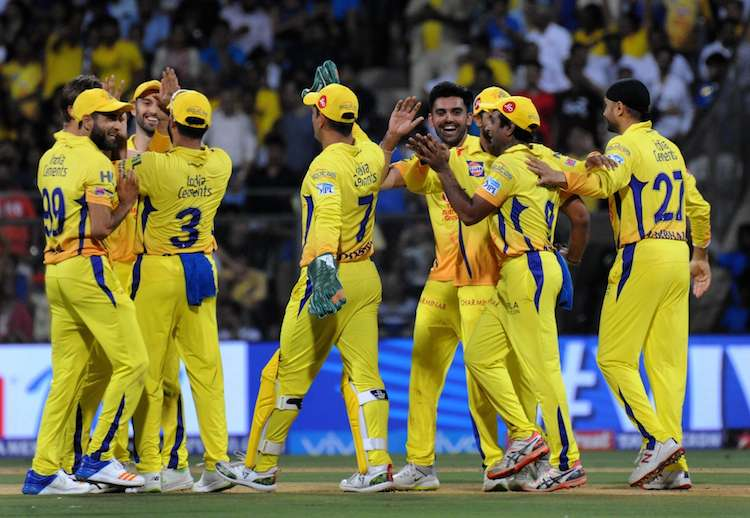 CSK Team Images