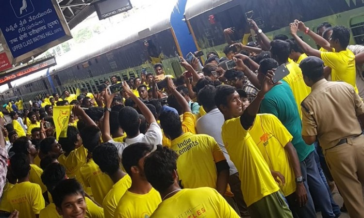 Special train takes Chennai Super Kings fans to Pune